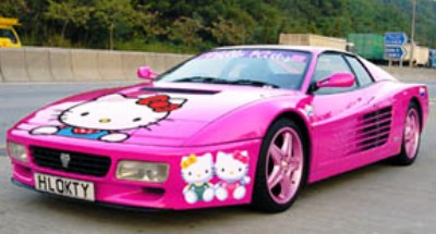 Hello Kitty Ferrari