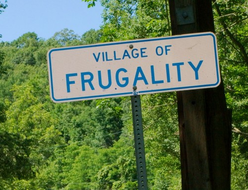 frugal neighbors