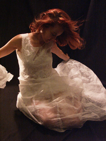 dryer sheet dress