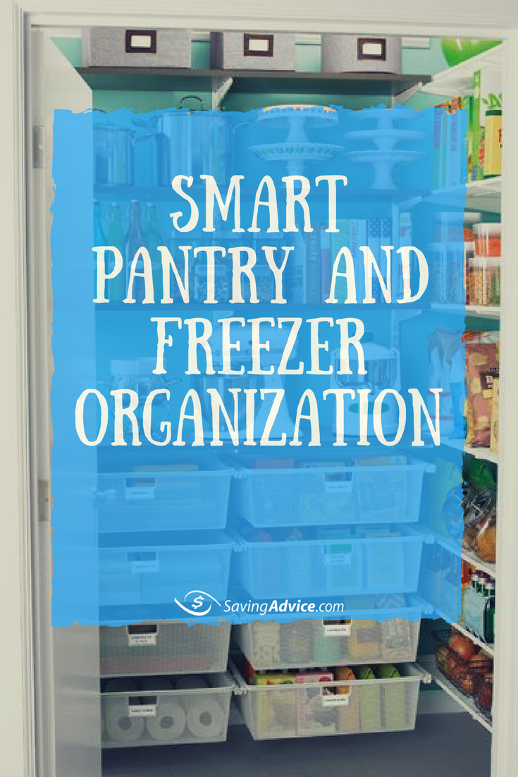 pantry organization tips, freezer organization tips, pantry and freezer organization tips