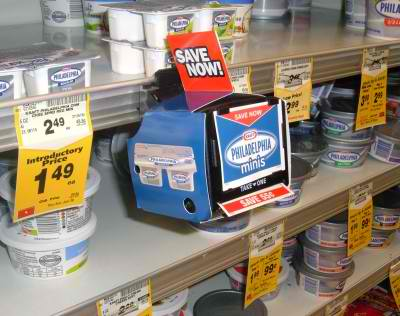 blinkie coupon dispenser