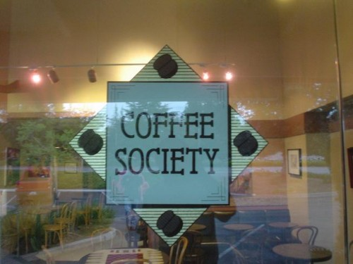 coffee society coffee shop