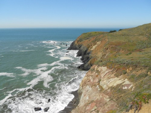 marin headlands coast california