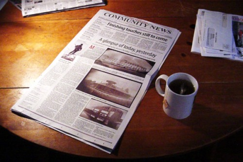 community newspaper