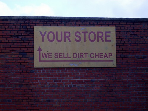 dirt cheap