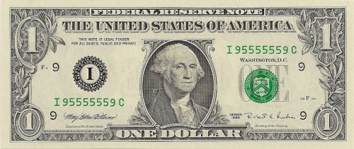 super radar serial number dollar bill