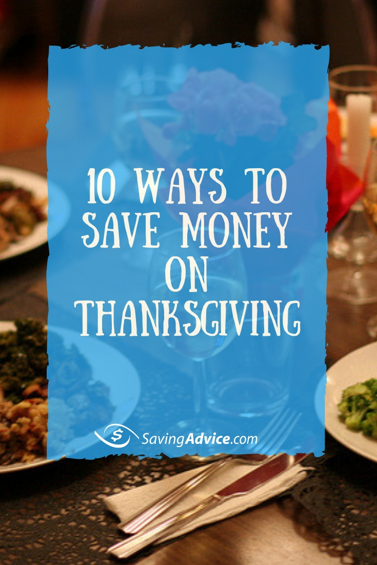 save money on Thanksgiving, cutting costs on Thanksgiving, budget Thanksgiving