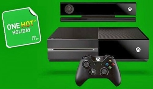 McDonald's One Hot Holiday Xbox One instant win game