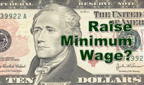 $10 minimum wage