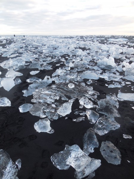 ice on beach