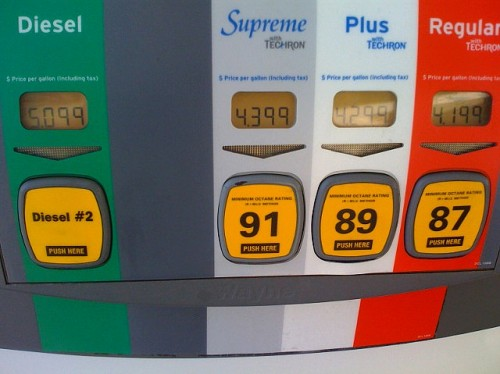 Spring gas price increase