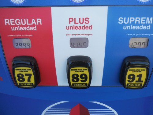 Gas prices inch toward $4 a gallon