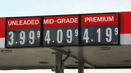 gas prices climb