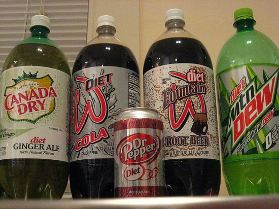 diet soda helps lose weight more than water
