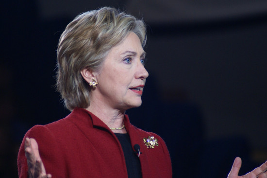 Hillary Clinton defends speaking fees which she says go to charity