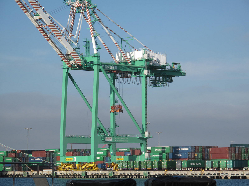 Strike At The Port Of Long Beach