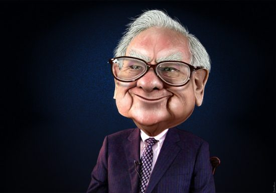 Warren Buffet donates a record $2.8 billion to charity