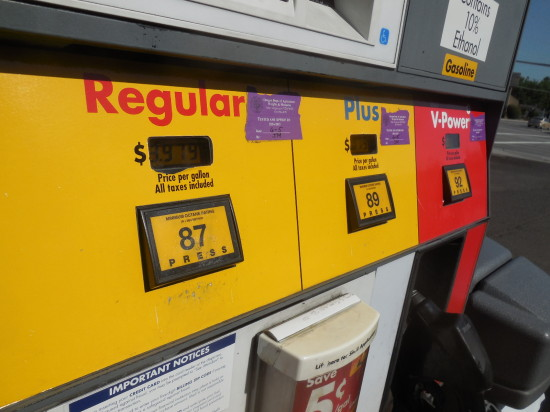 Cheaper gas prices as oil prices fall