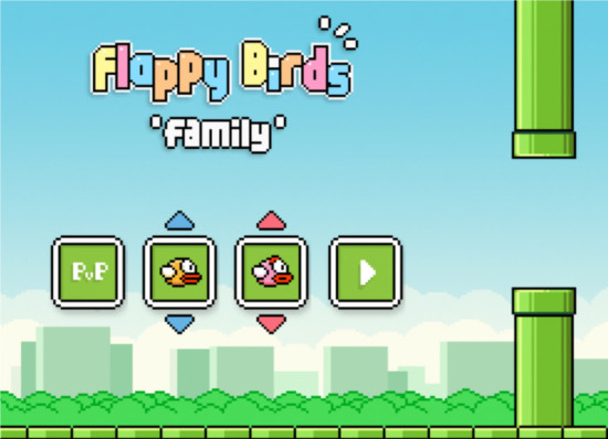 Flappy Birds Family launched in Amazon App store