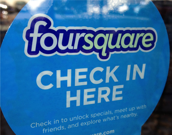 Foursquare relaunched but losing popularity