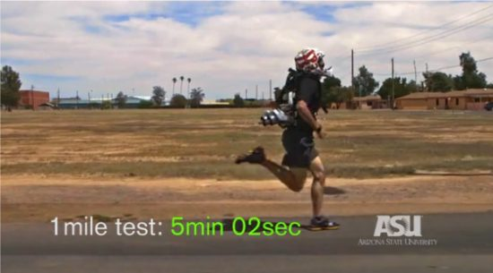 ASU is creating a DARPA funded jetpack to let soldiers run a 4 minute mile
