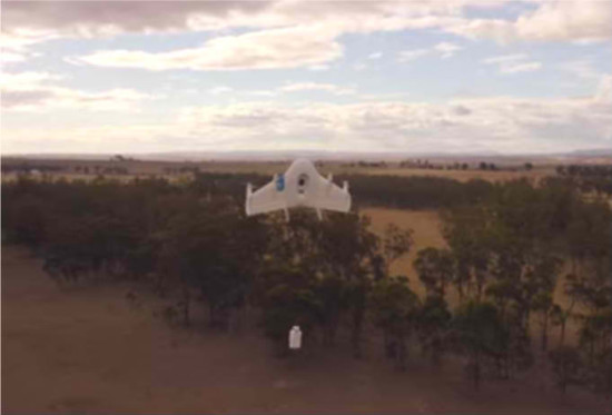 Google Project X drone Project Wing