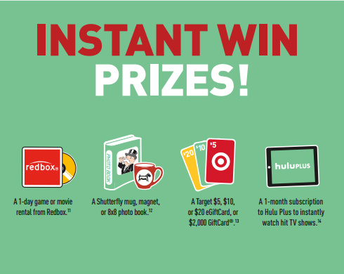 Intant win prizes available for McDonald's Monopoly 2014