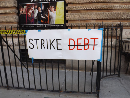 Occupy Wall Street forgives nearly $4 million in private student loan debt through Strike Debt