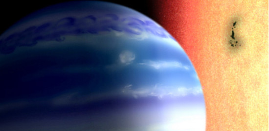 Water and hydrogen found on an exoplanet the size of Neptune