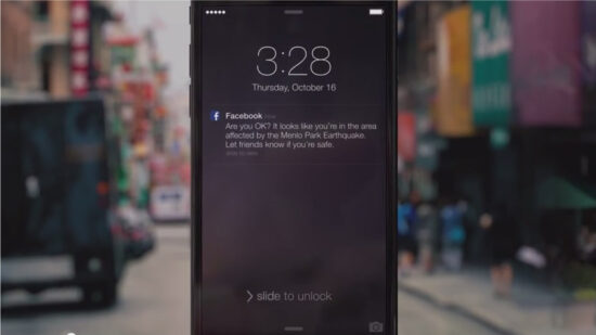 Facebook adds new Safety Check feature to let people know you're okay in a disaster area