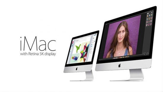 the New iMacs come with an expensive 5k retina display monitor