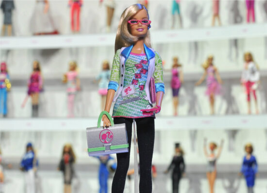 Mattel releases a Barbie computer engineer book where she can't program