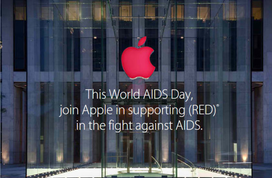 Apple and (RED) partner on apps for World Aids Day