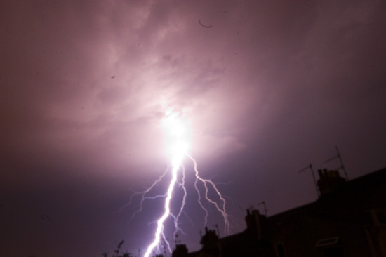 Study: Increaseing temperatures from climate change will increase lightening strikes