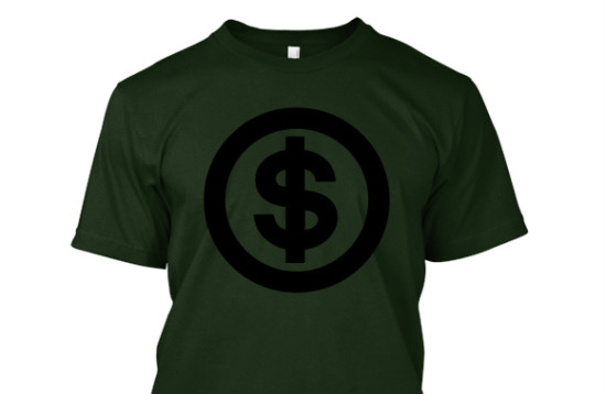 Upfront costs needed to sell Teespring t shirts