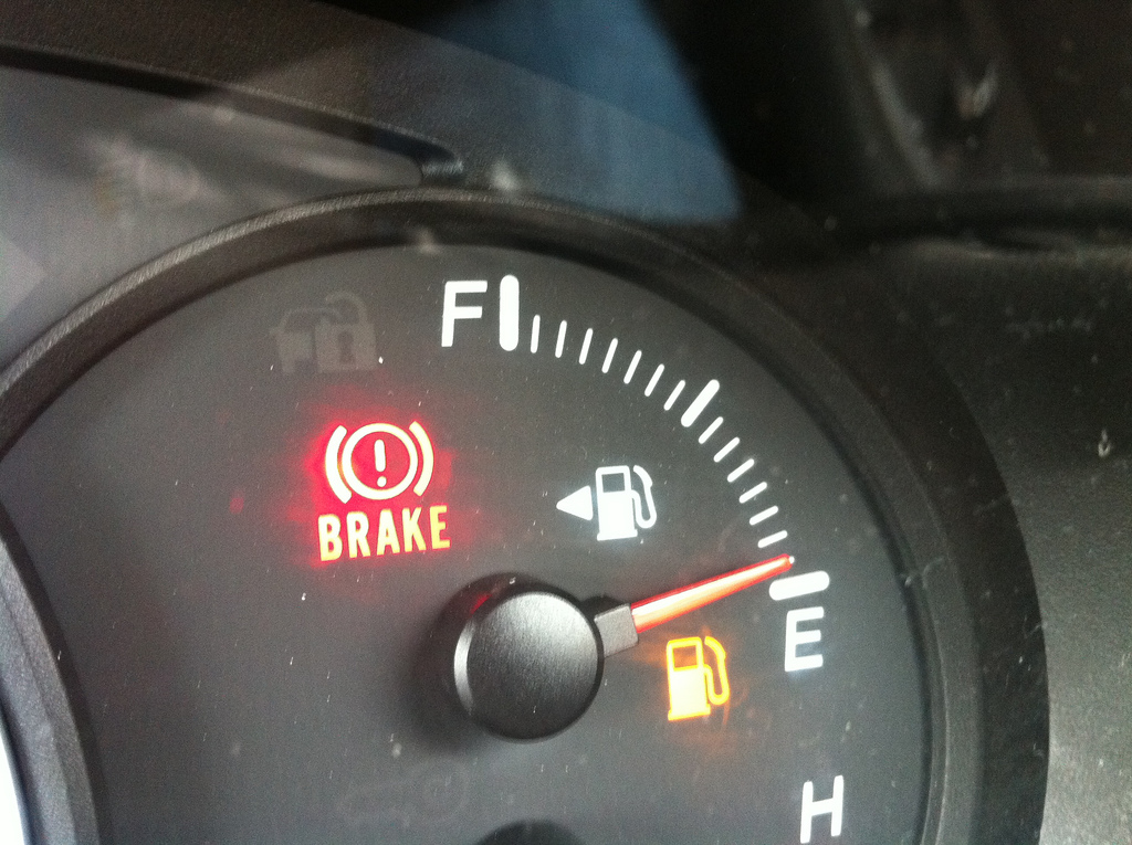 full tank of gas or empty