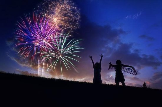 Firework Displays for July 4th