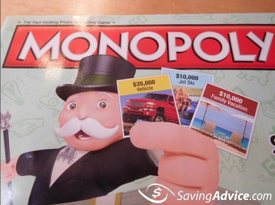 Albertsons Monopoly Rare Game Piece