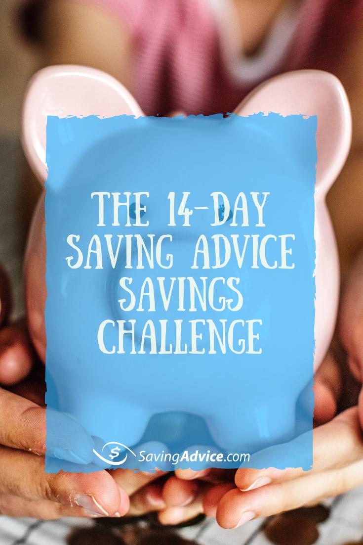 savings challenge, money saving challenge, saving advice savings challenge