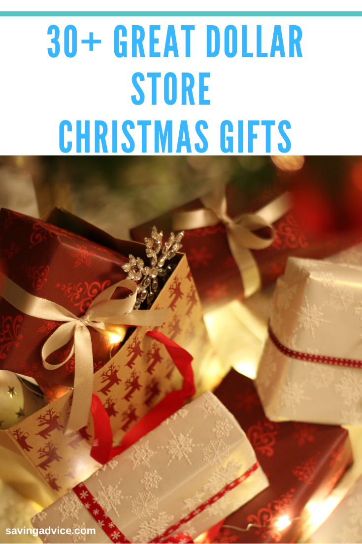 30+ Great Dollar Store Christmas Gifts