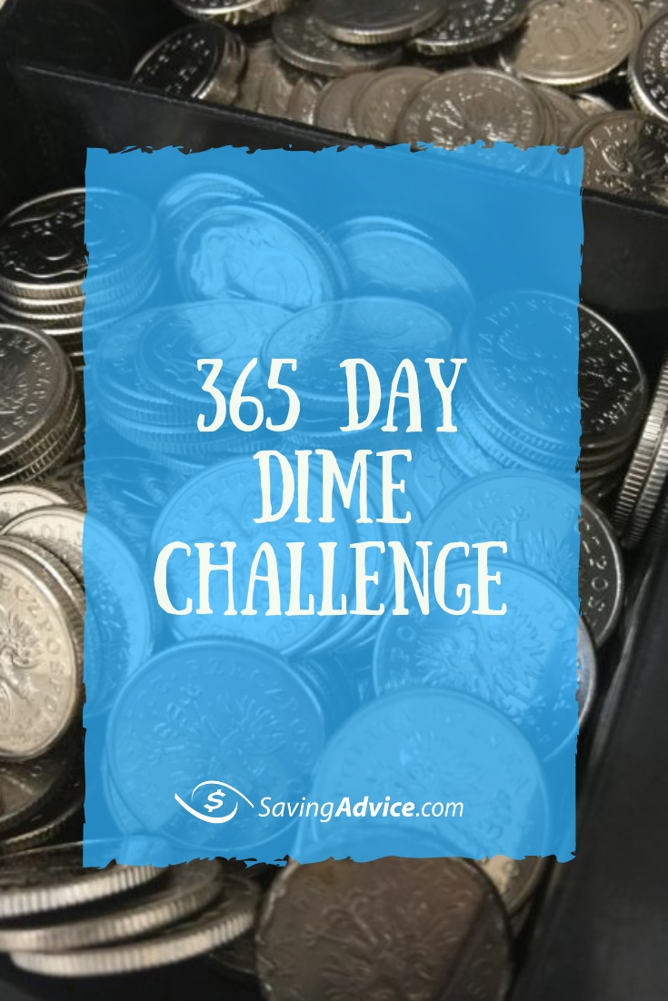 365 Day Dime Challenge