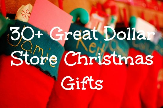 Dollar Store Christmas Gifts
