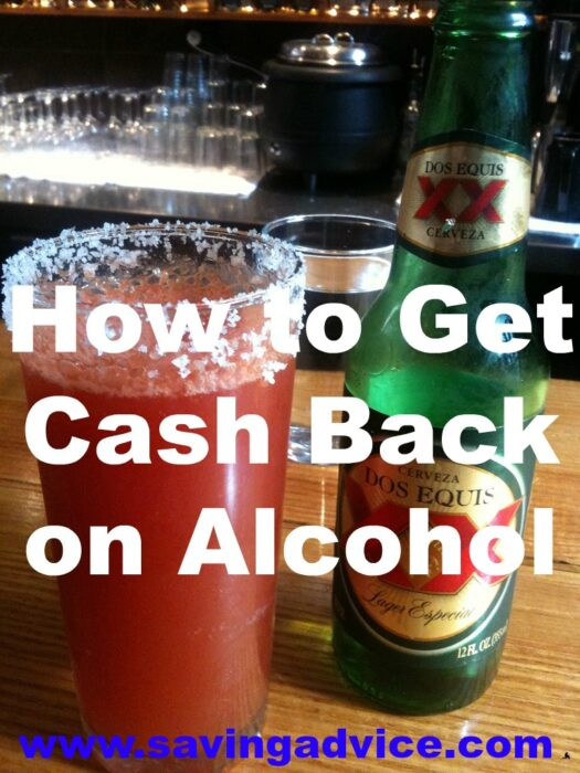 How to Get Cash Back on Alcohol