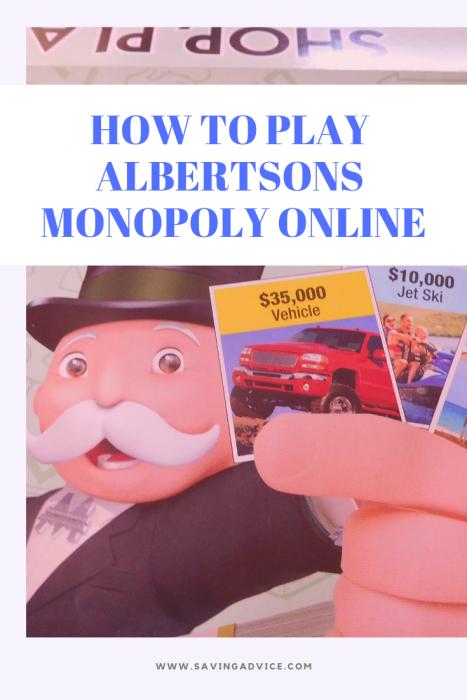 Albertsons monopoly online