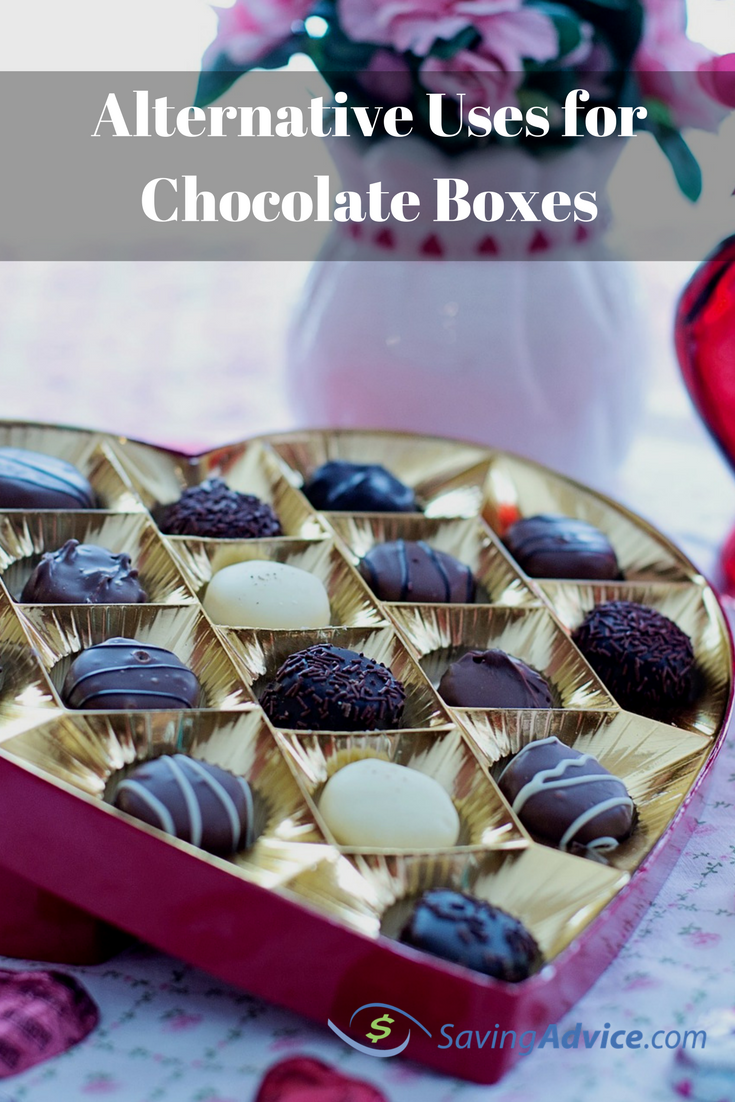 alternative uses for chocolate boxes