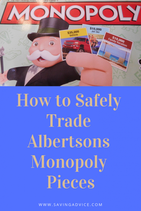 Safely trade monopoly pieces