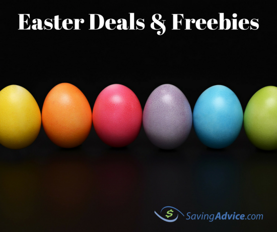 easter deals and freebies