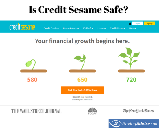 is credit sesame safe