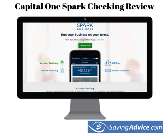 capital one spark checking review
