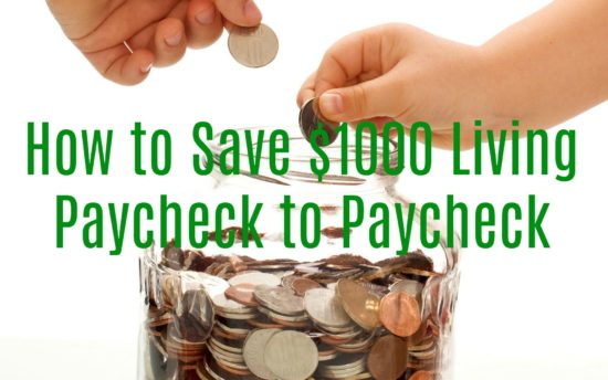 how to save $1000